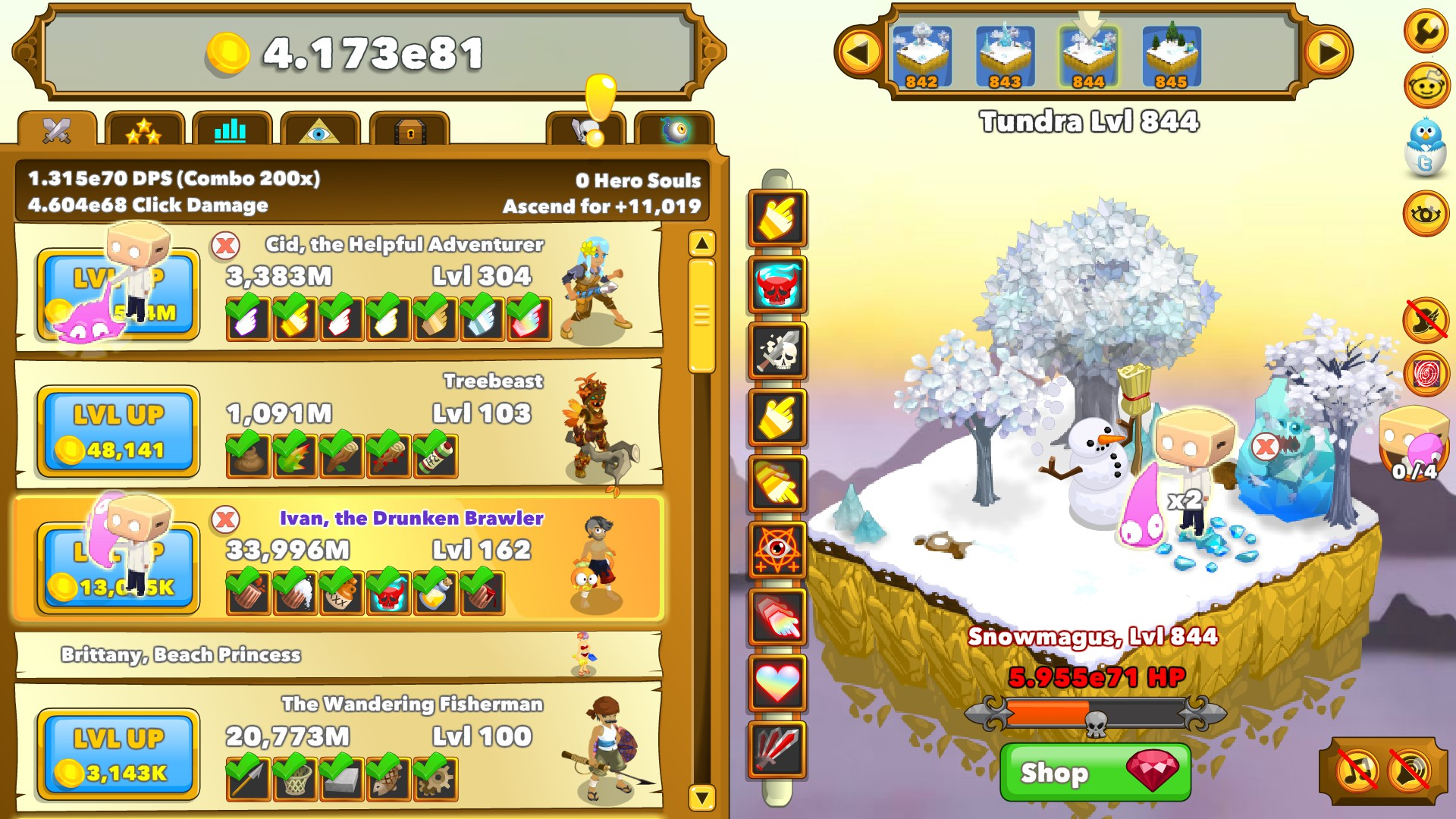 Clicker Heroes: Boxy & Bloop Auto Clicker Steam Discovery