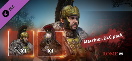 Tiger Knight Empire War - Rome Macrinus Pack