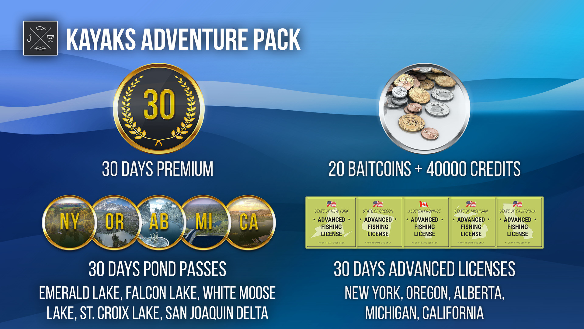 Fishing Planet: Kayaks Adventure Pack
