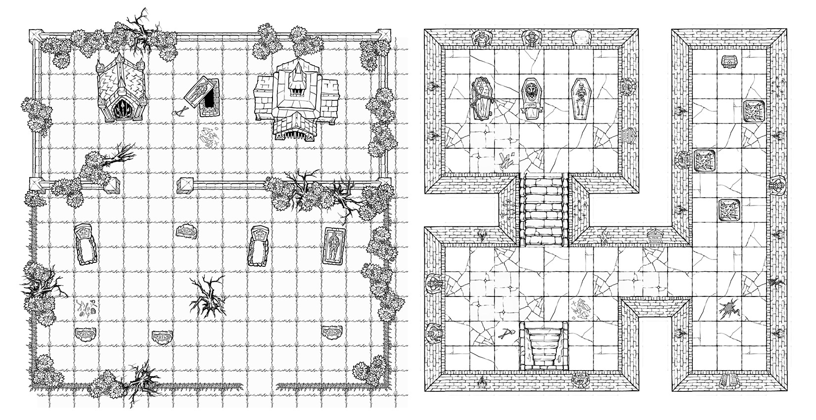 graphic relating to Printable Dungeon Tiles Pdf called Dungeon Painter Studio