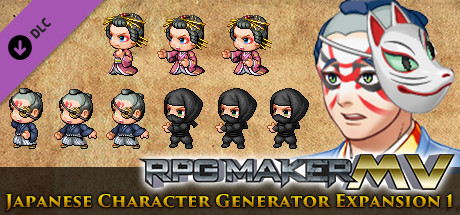 RPG Maker MV - Japanese Character Generator Expansion 1 on Steam