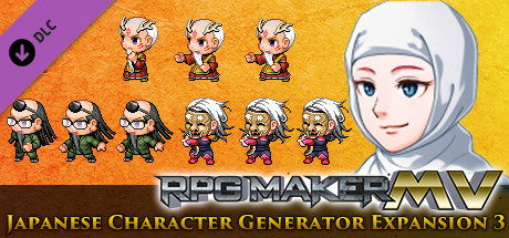 RPG Maker MV - Japanese Character Generator Expansion 3 on Steam