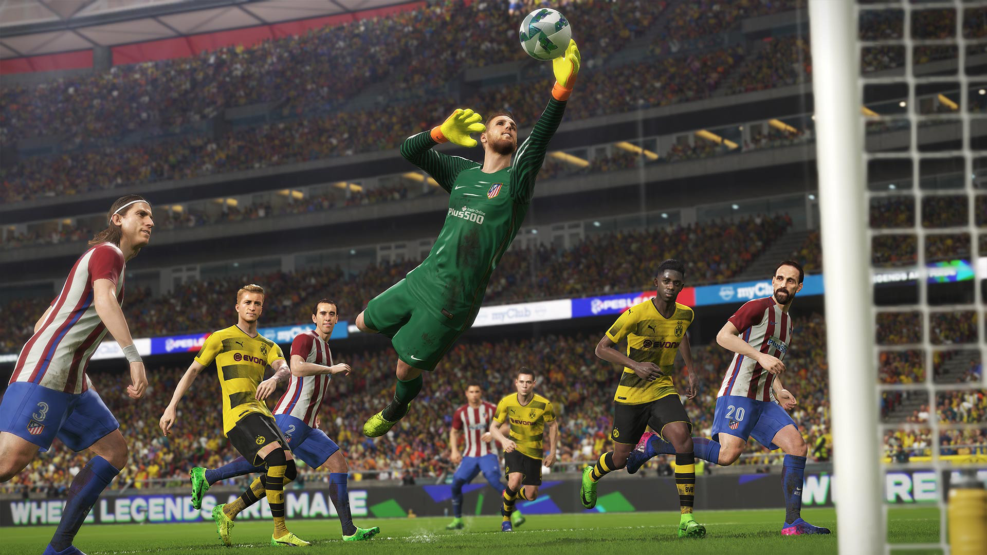 Pro Evolution Soccer 2018 System Requirements Can I Run It Pcgamebenchmark