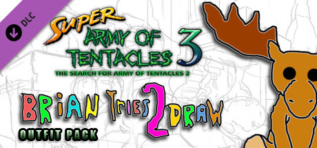 SUPER ARMY OF TENTACLES 3: Brian Tries To Draw! Outfit Pack