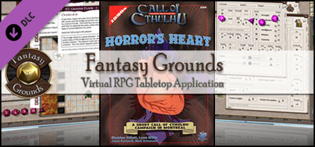 Fantasy Grounds - Horror's Heart (Call of Cthulhu)