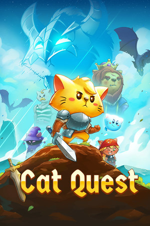 Cat Quest poster image on Steam Backlog