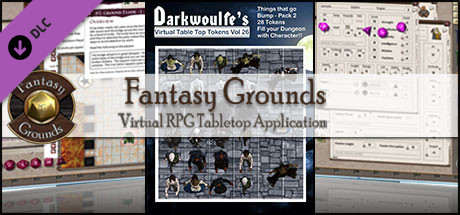Fantasy Grounds - Darkwoulfe's Volume 26 - Things that go Bump Pack 2 (Token Pack)