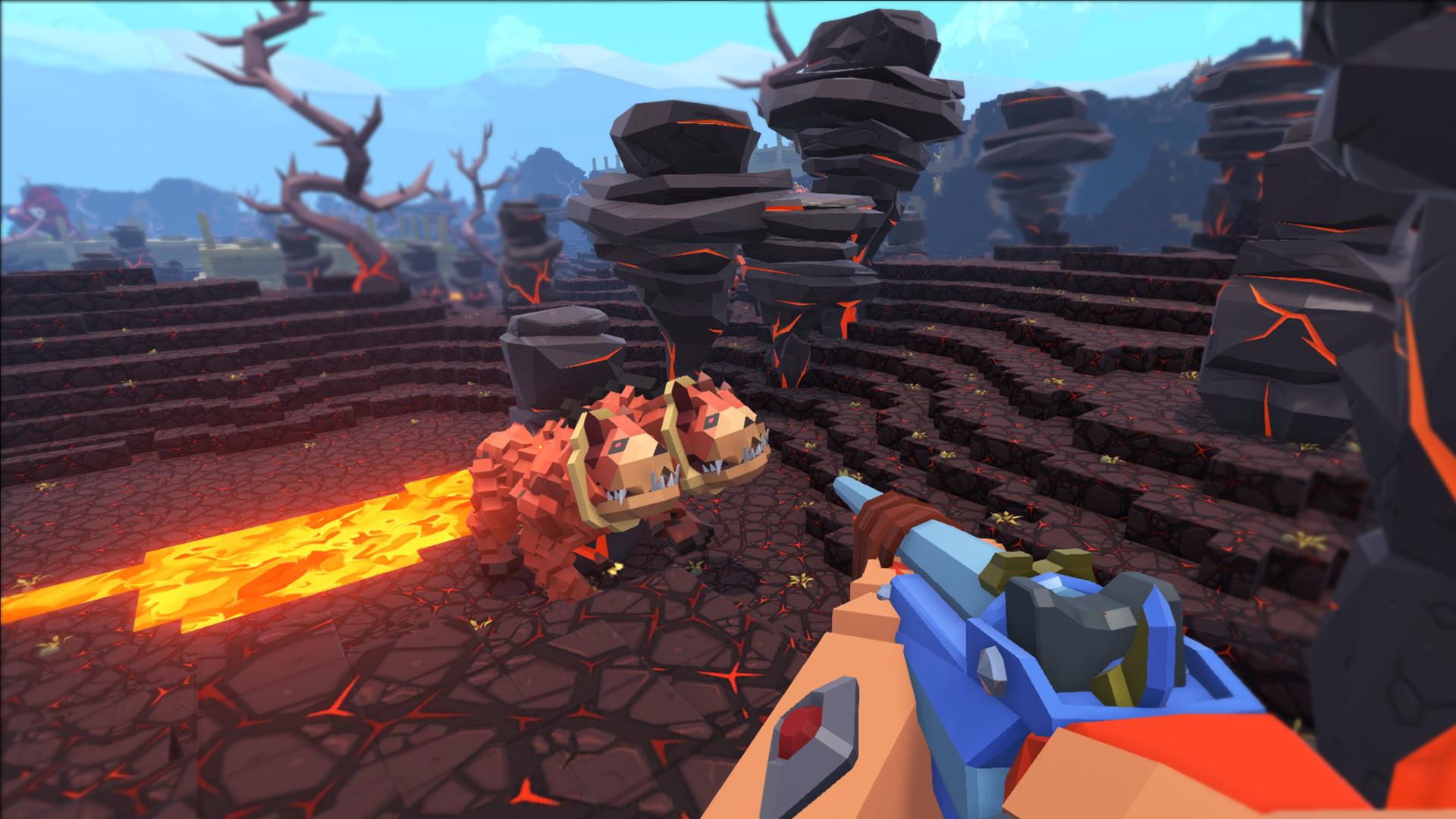 Скриншот игры PixARK v1.48 (0.1.0.366)