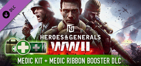 Heroes & Generals - Medkit & Medic Ribbon Boosters