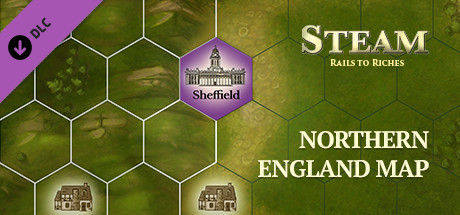 Steam: Rails to Riches - Northern England Map