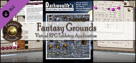 Fantasy Grounds - Darkwoulfe's Volume 27 - Things that go Bump Pack 3 (Token Pack)