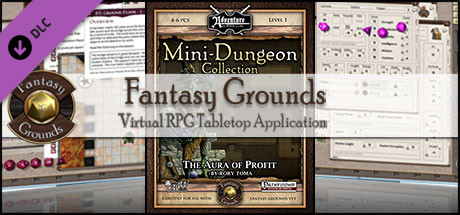 Fantasy Grounds - Mini-Dungeon #023: The Aura of Profit (PFRPG)