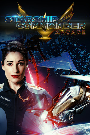 Starship Commander: Arcade poster image on Steam Backlog