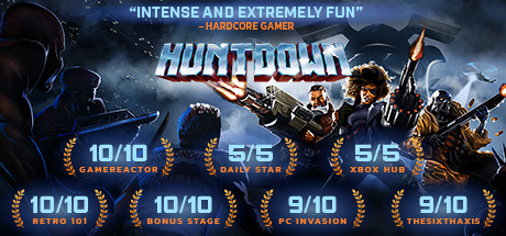 Huntdown cover art