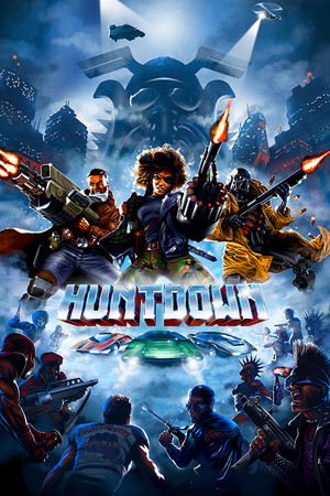 HUNTDOWN poster image on Steam Backlog