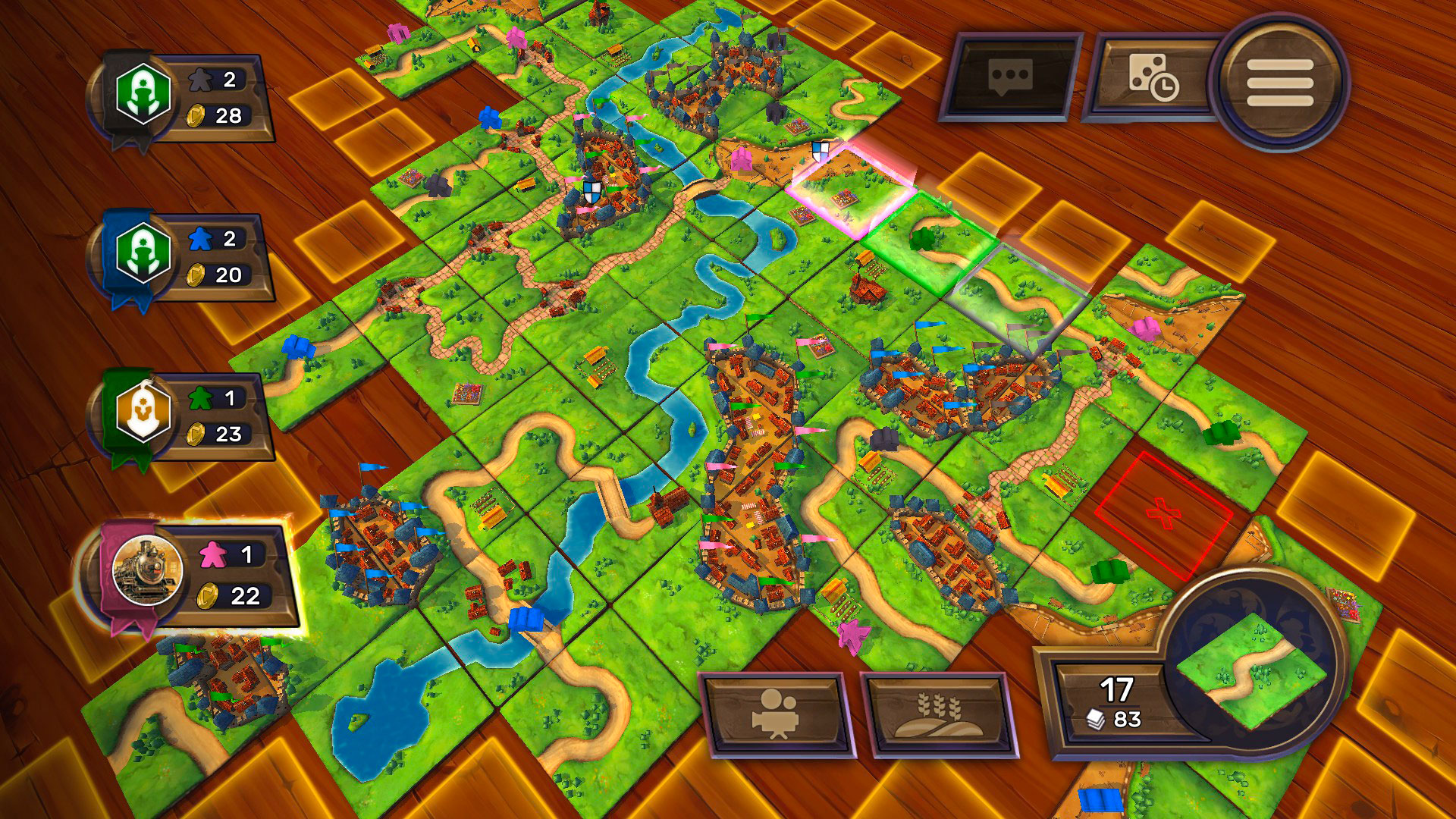 Image result for carcassonne game