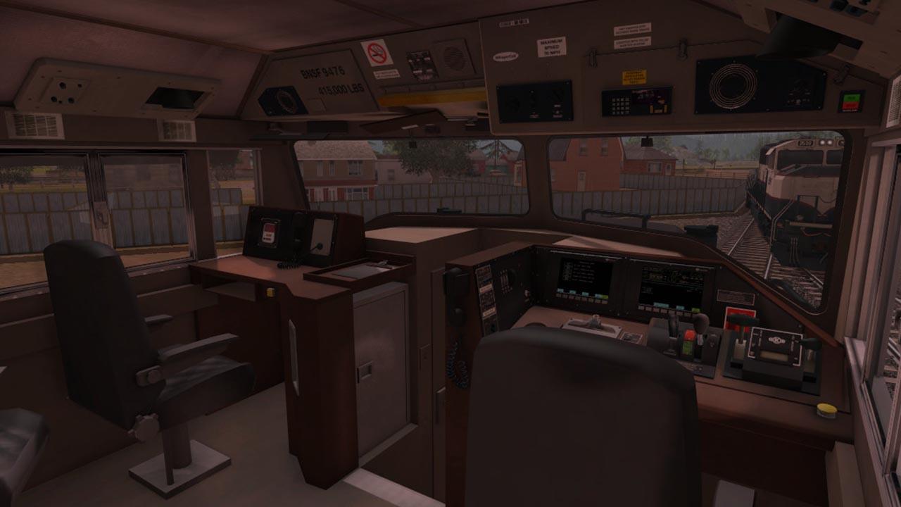 Trainz: BNSF Railway - EMD SD70MAC Executive Patch 2016 pc game Img-3