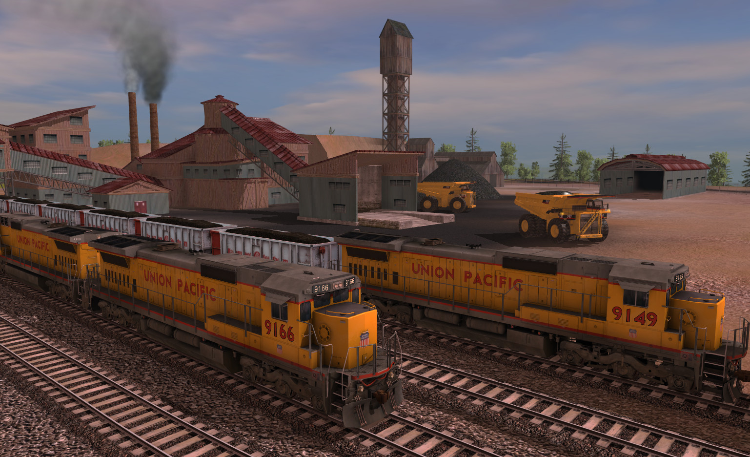 Trainz 2019 DLC: Union Pacific GE C40-8