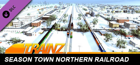 Trainz 2019 DLC: Season Town Northern Rail Road Route