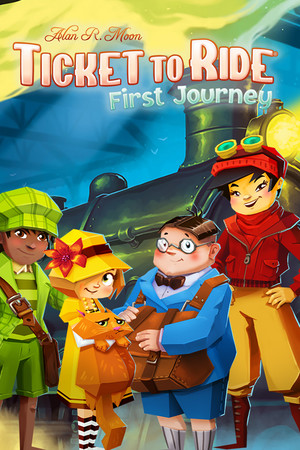 Ticket to Ride: First Journey poster image on Steam Backlog