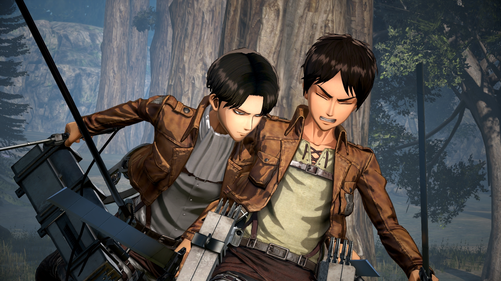 Attack on titan dating rpg
