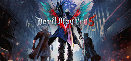 Devil May Cry 5 Cover art Steam Wide