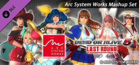 DOA5LR Arc System Works Mashup Set