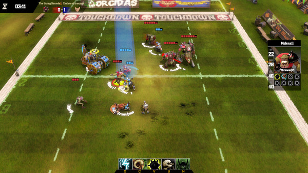 Blood Bowl Death Zone ScreenShot 1
