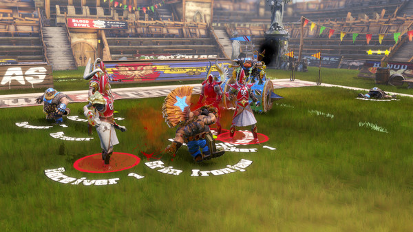 Blood Bowl Death Zone ScreenShot 2