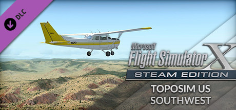 FSX Steam Edition: Toposim US Southwest Add-On