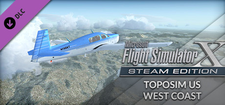 FSX Steam Edition: Toposim US West Coast Add-On
