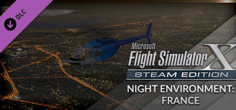 FSX Steam Edition: Night Environment: France Add-On