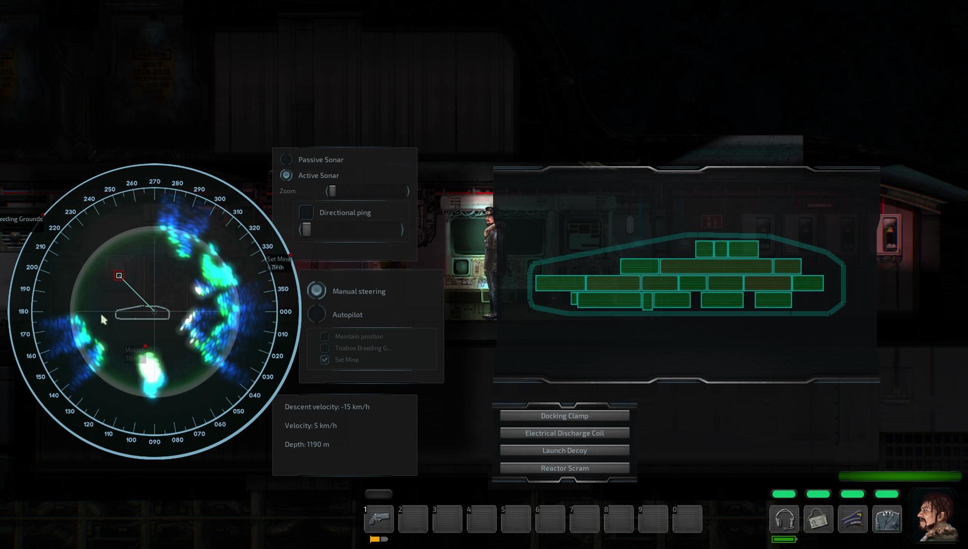 Screenshot of Barotrauma server hosting