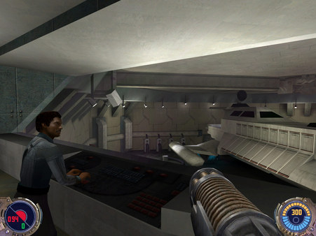 Скриншот из STAR WARS™ Jedi Knight II: Jedi Outcast™