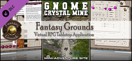 Fantasy Grounds - Compass Point 01: Gnome Crystal Mine (3.5E)