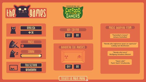 Screenshot of The Cat Games