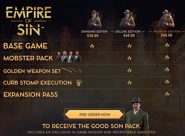 EoS comparison table 616 | RPG Jeuxvidéo