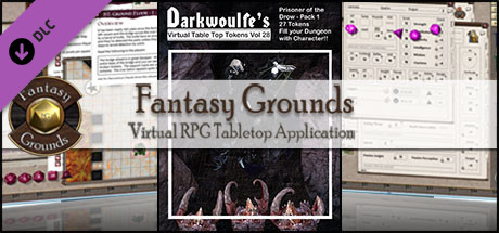 Fantasy Grounds - Darkwoulfes Volume 28 - Prisoner of the Drow 1 (Token Pack)
