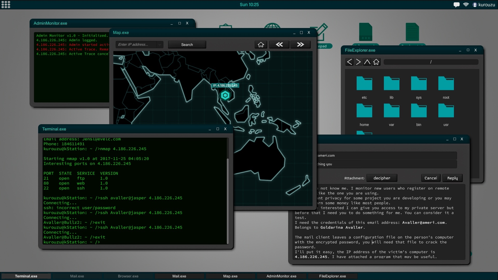 sim games hacked