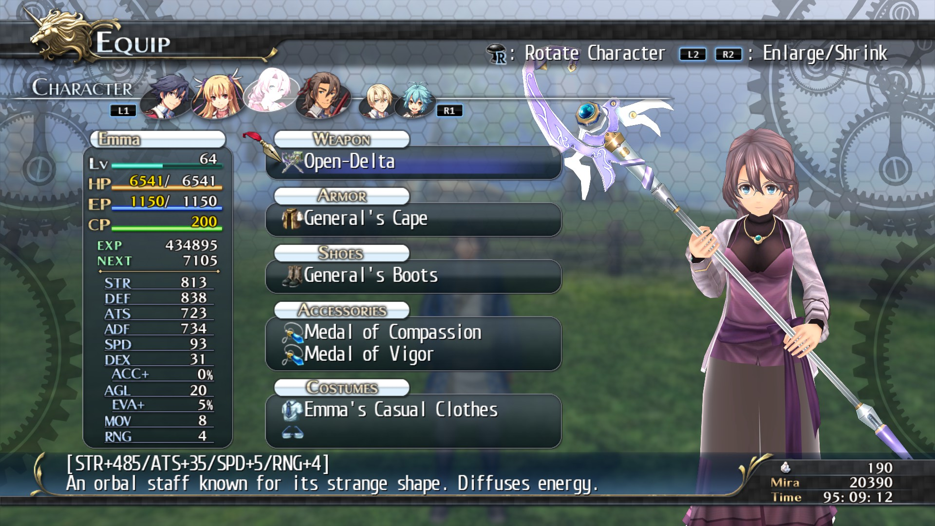 The Legend Of Heroes Trails Of Cold Steel Emma S Casuals On Steam