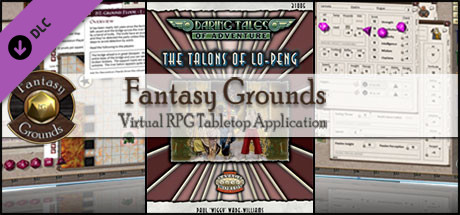 Fantasy Grounds - Daring Tales of Adventure 04: The Talons of LoPeng (Savage Worlds)
