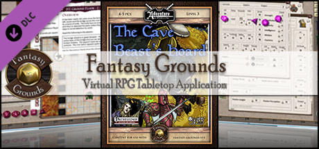 Fantasy Grounds - B04 The Cave Beast Hoard (PFRPG)