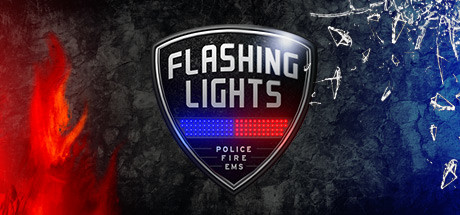 Flashing Lights  Police Firefighting Emergency Services Simulator [PT-BR] Capa