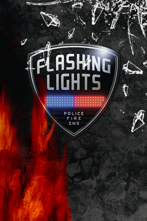 Flashing Lights - Police, Firefighting, Emergency Services Simulator poster image on Steam Backlog