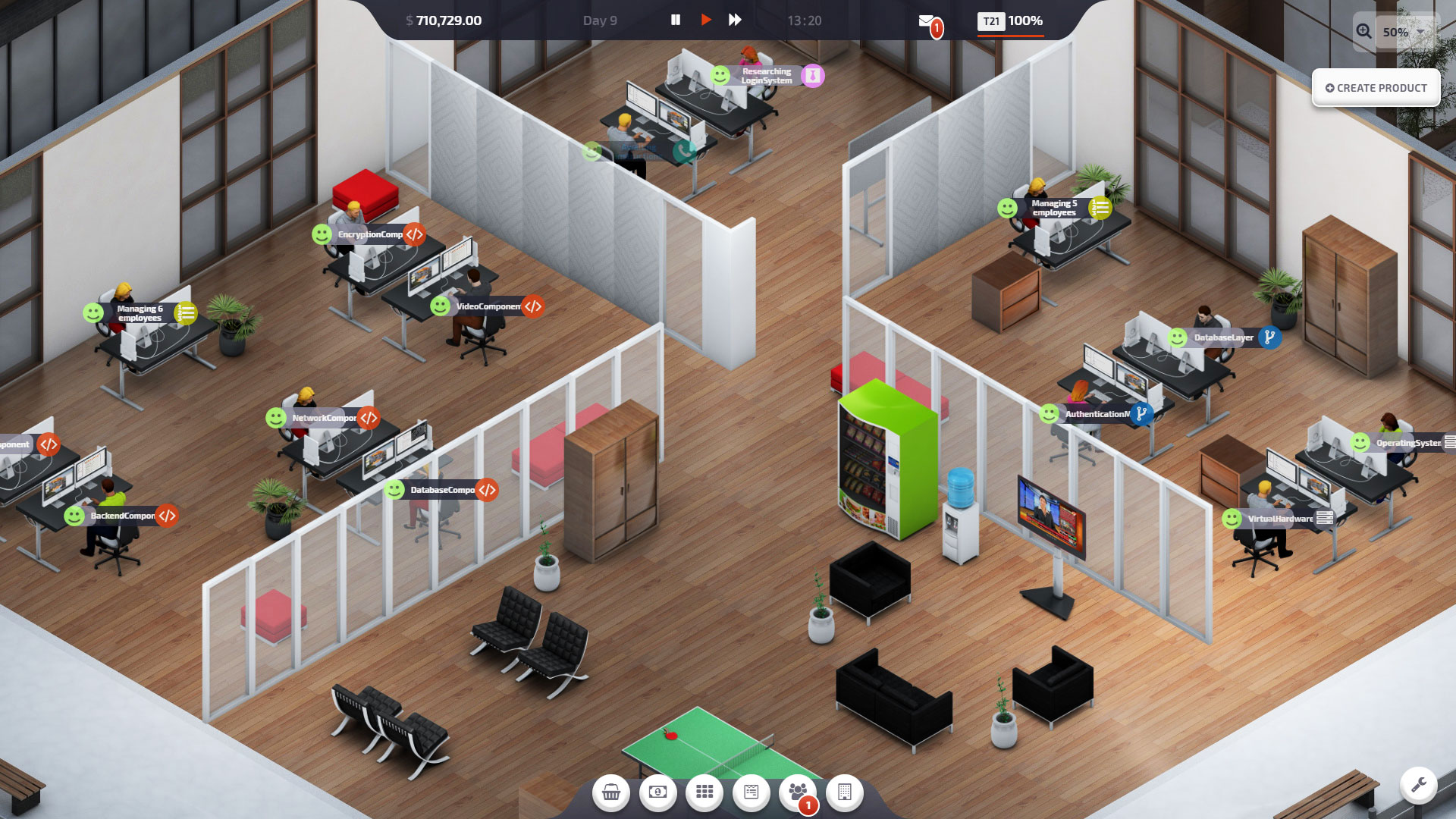 Startup Company Screenshot 1