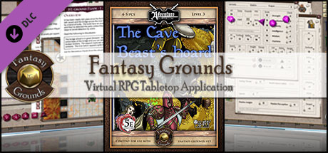 Fantasy Grounds - B04 The Cave Beast Hoard (5E)