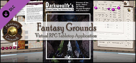Fantasy Grounds - Darkwoulfe's Volume 29 - Prisoner of the Drow 2 (Token Pack)