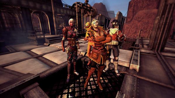 Скриншот из Guns of Icarus Alliance
