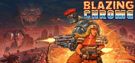 Blazing Chrome cover art