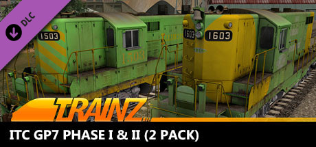 Trainz 2019 DLC: ITC GP7 Phase I & II (2 Pack)